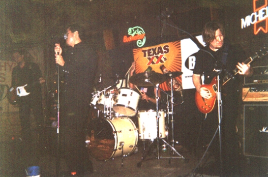 Bag at Trophy's in Austin, circa 2001